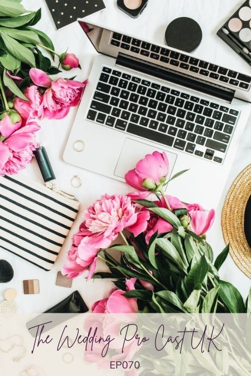 Blogging in the wedding industry